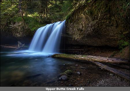 Abiqua Falls And Butte Creek Falls