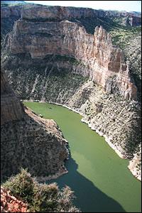 Bighorn canyon national recreation area - Noordelijke deel ...